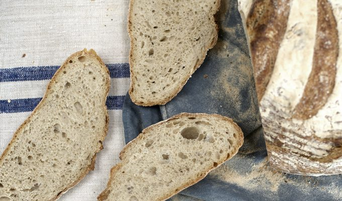 Why is it that I can digest sourdough bread and not commercial bread?