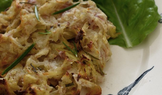 Sourdough Potato Rosti