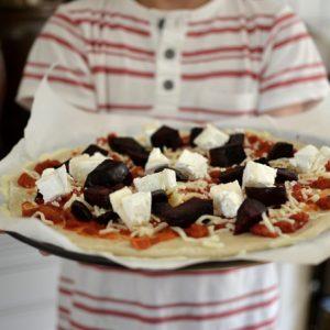 freezer ready pizza