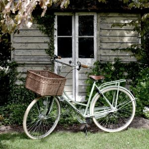 The perfect form of transport.  Stylish, carbon neutral and good for your health  - perfect to deliver sourdough bread on.