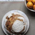sweet potatoe sourdough bread