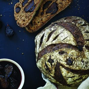 Sarah Owens Drunken Sourdough Fig Bread Recipe