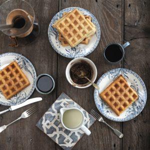 Spelt Sourdough Waffles