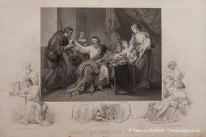 1588 – alfred – dividing the loaf – uk