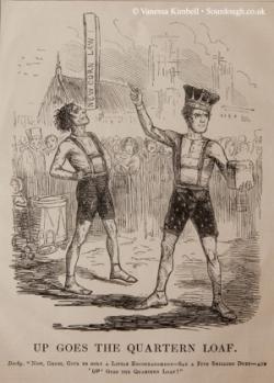 1842 – Corn laws - London
