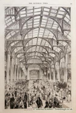 1845 – Corn laws – London