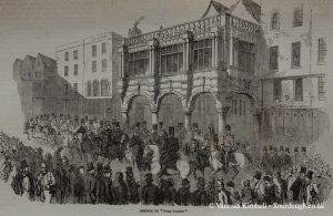 1854 – Bread riot in Exeter - UK