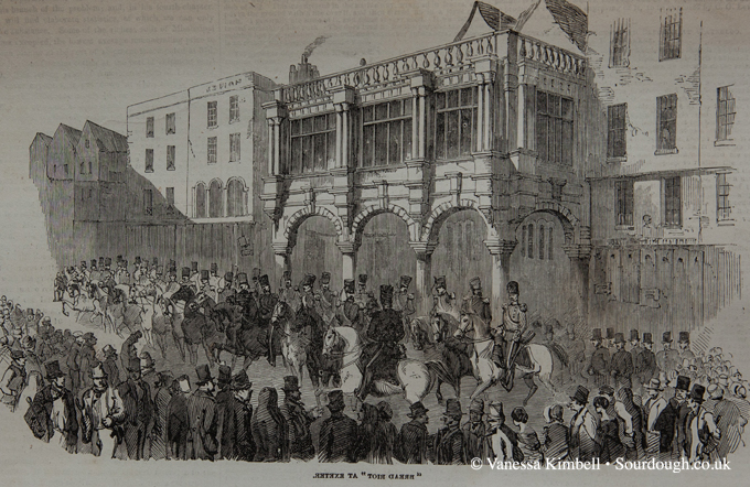 1854 – Bread riot in Exeter - UK