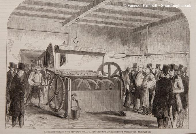 1858 – Bread making machine – London
