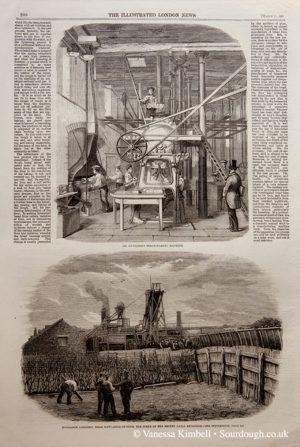 1860 – Bread making machine – UK