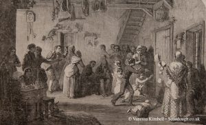 1860 – New Year cake – UK