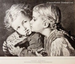 1879 – Children with bread - UK