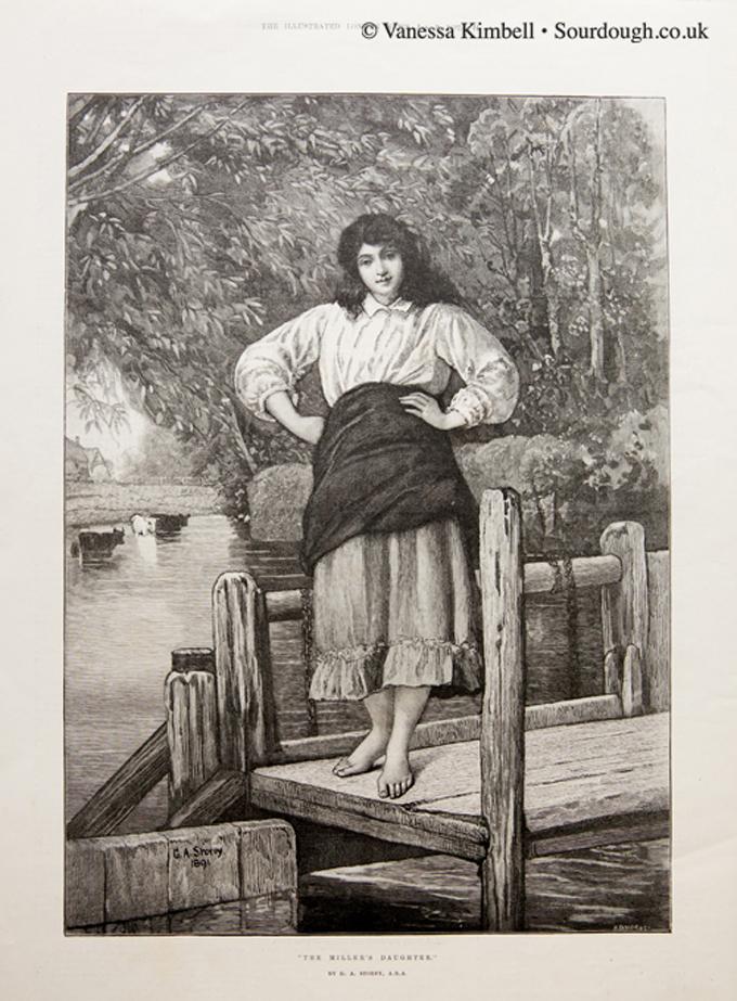 1892 – The miller's daughter – UK