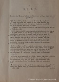 1899 – Labour law - UK
