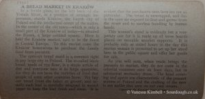 1900 – Selling bread - Poland