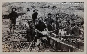 1900 – Sourdough mining – Klondike