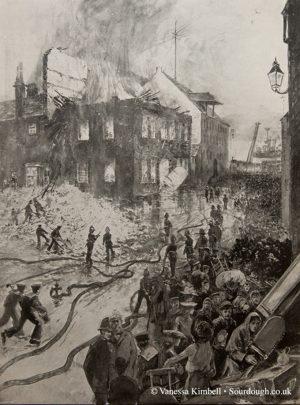 1903 – Burning mill