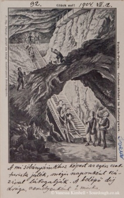 1904  – Salt mine - Salzbergwerk, Germany