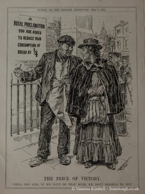 1917 – Rationing during the war – UK