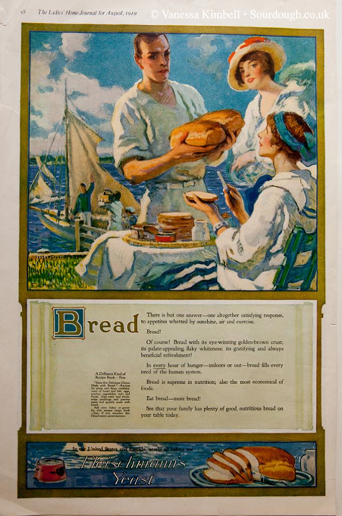 1919 – Fleischmanns yeast – USA