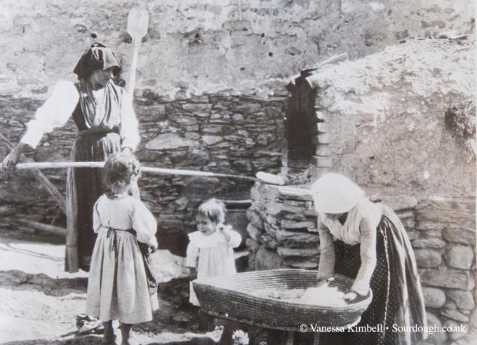 1936 – bread making – Sardinia