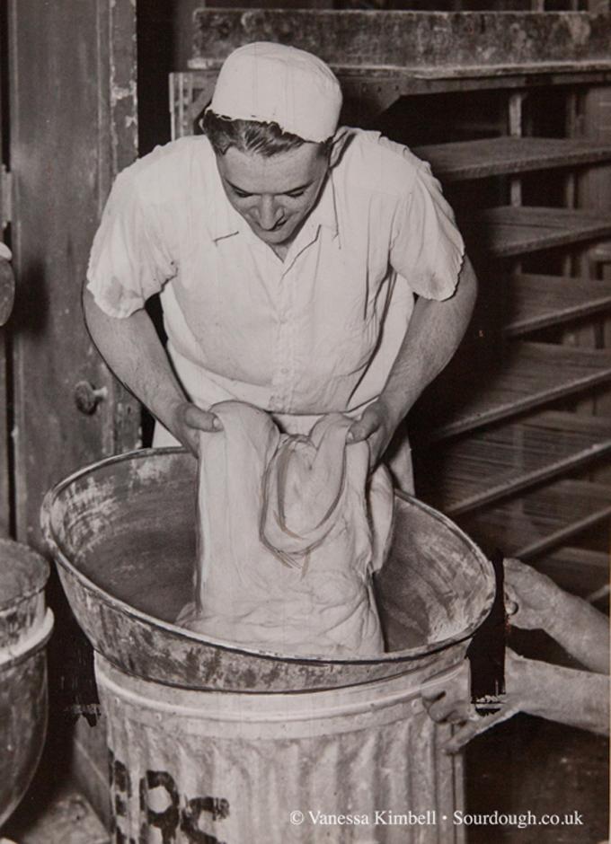1936 – Kneading dough