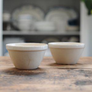 Two Vintage Ceramic Mixing Bowls 14cm diameter – SOLD