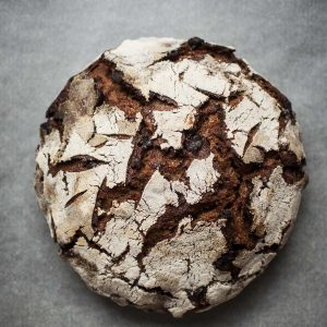 Gratitude sourdough bread (with dry fruits, chocolate and nuts)