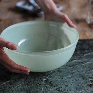 1950's Mint Green Pyrex Mixing Glass Bowl