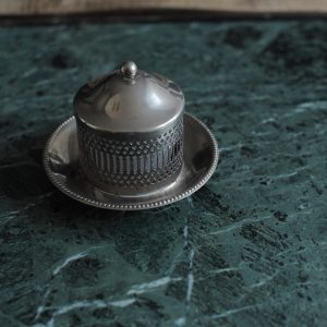 Silver Plated Jam Pot
