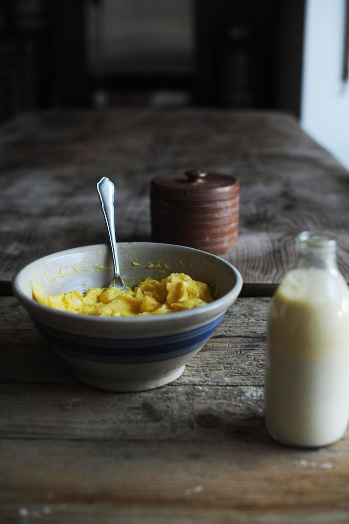 Cultured Butter & buttermilk
