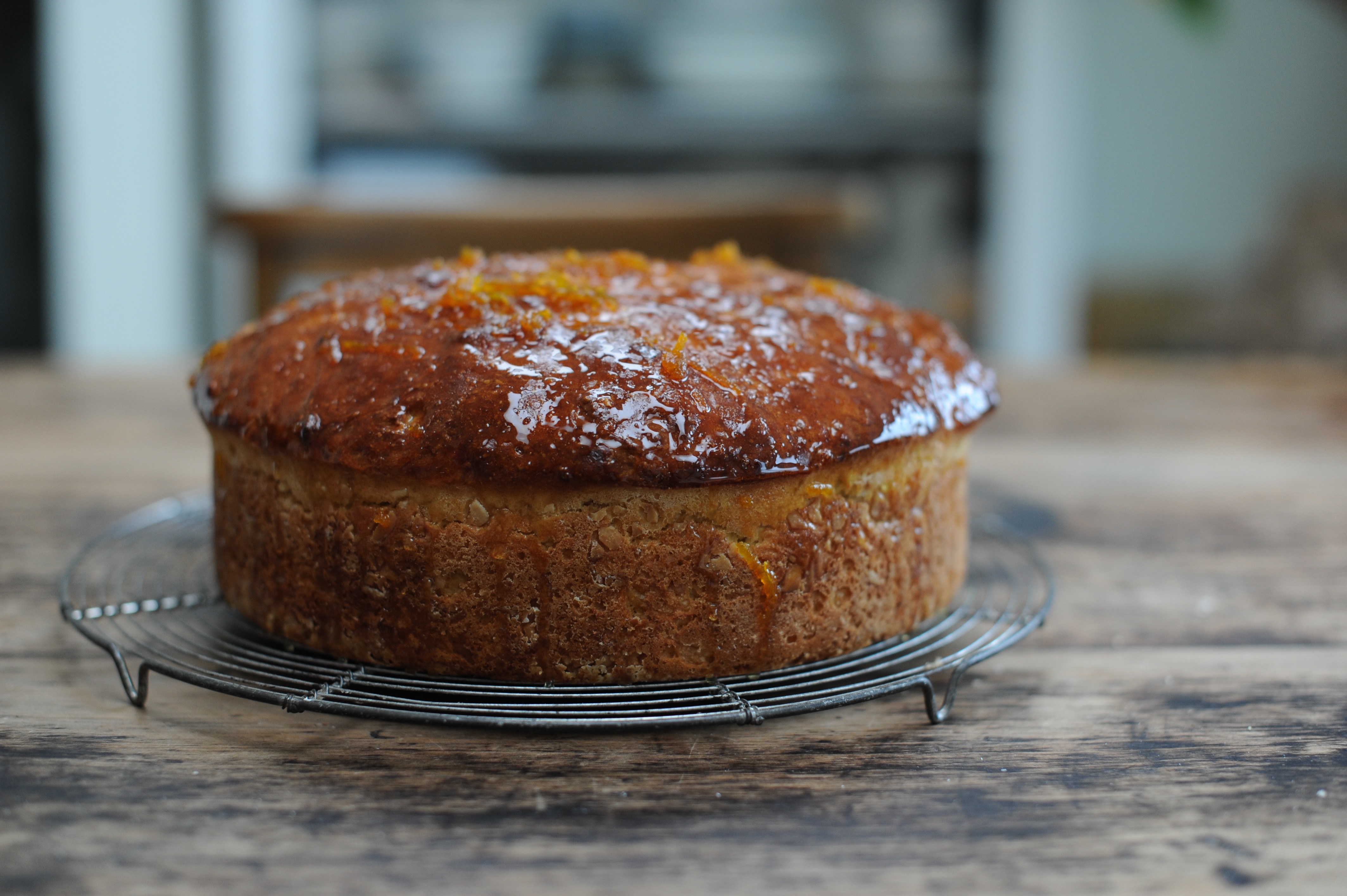 Sourdough Festive Sweet Orange Cake