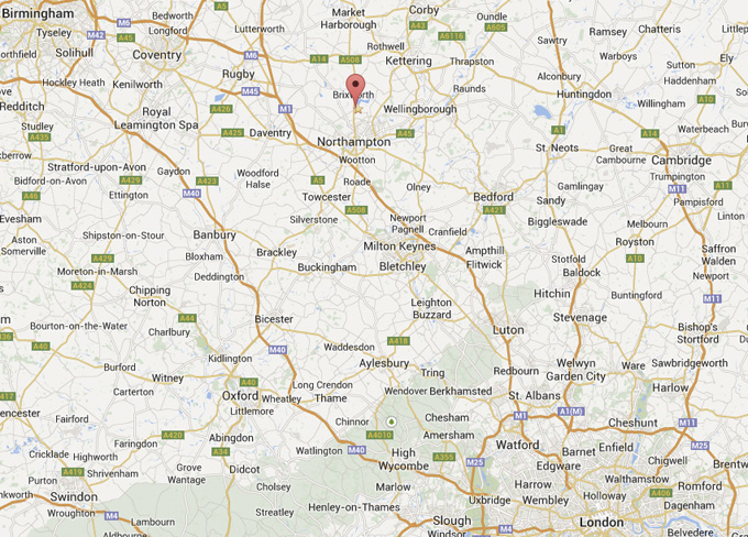 Northampton is based within easy reach of London, Oxford, Cambridge, Milton Keynes, Birmingham.