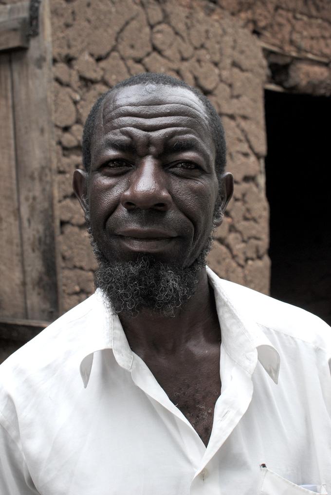 Ugandan Vanilla farmer