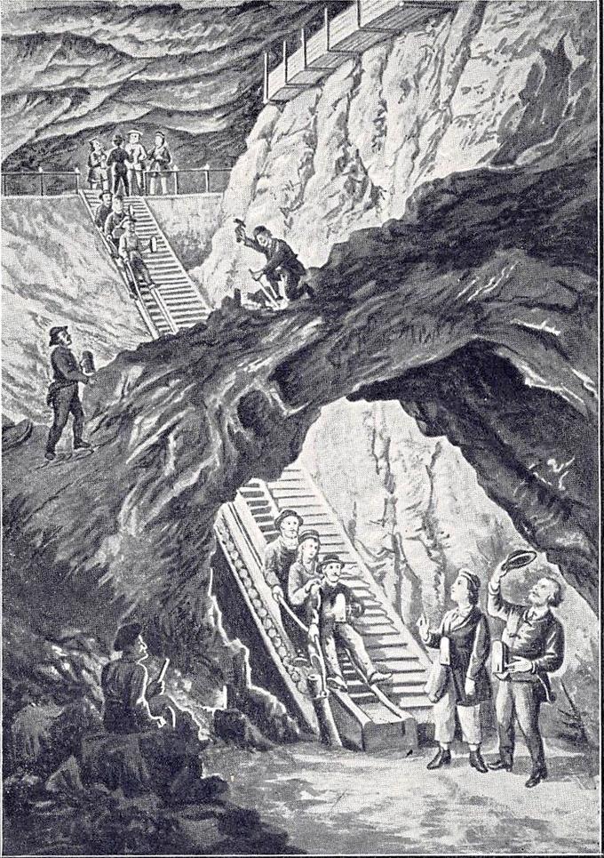 Salt Mines in 1904