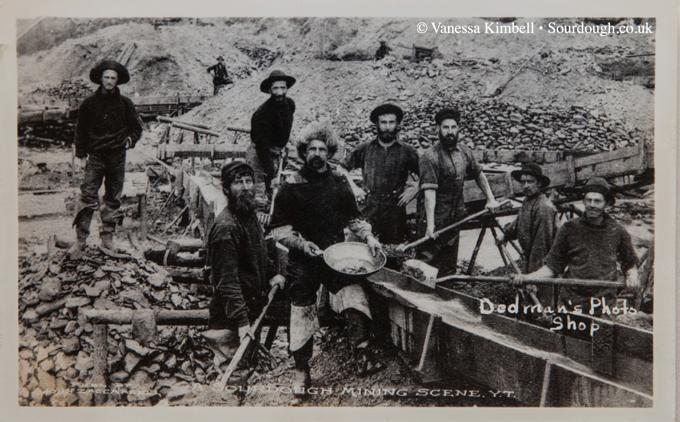 1900 sourdough mining klondike