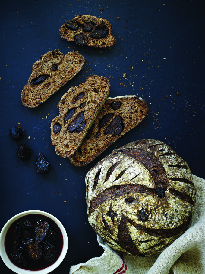 Sourdough Fig Bread