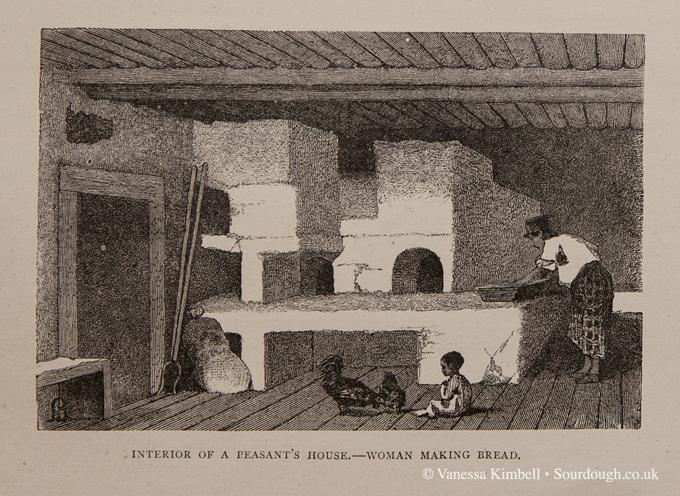 1600 - Making bread - Morroco