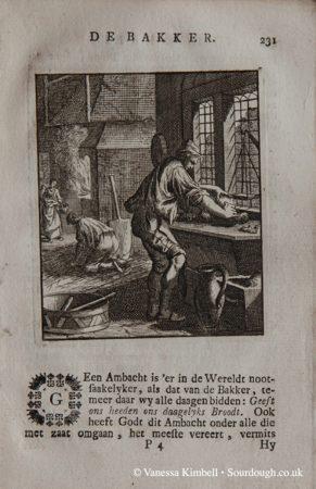 1694 – bread – kneading – amsterdam