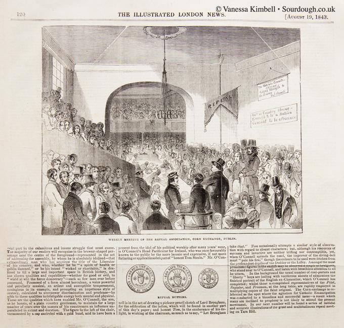 1843 – Corn law – Dublin