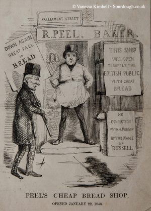 1846 – Baker and the corn laws - UK