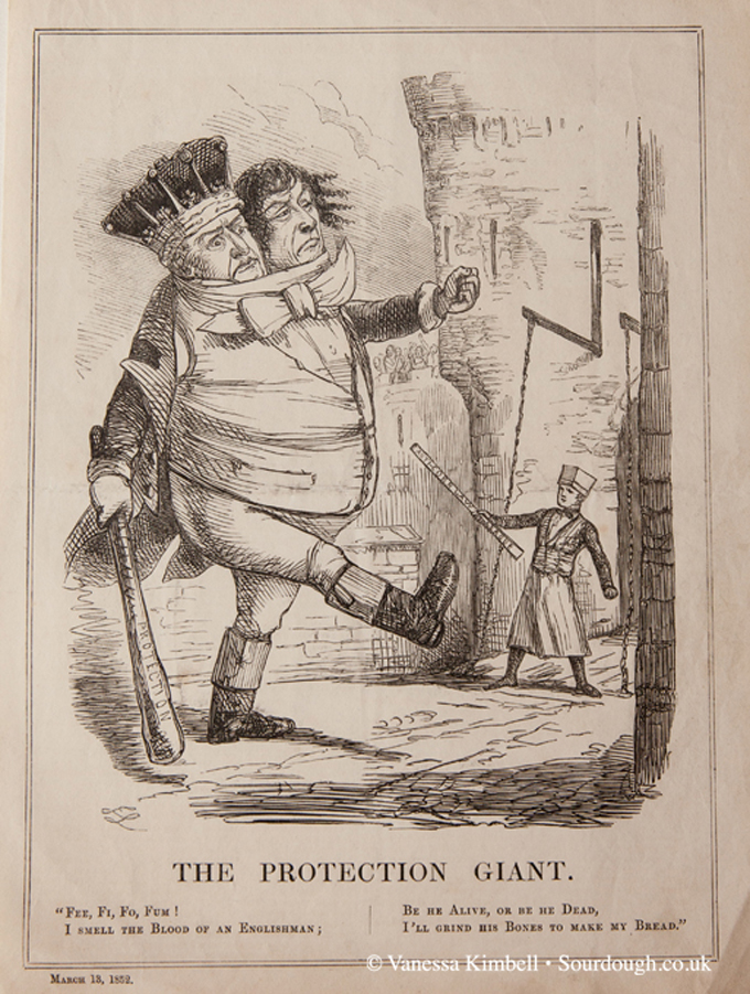 1852 – Corn laws – UK