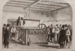 1858 – Bread making machine – London