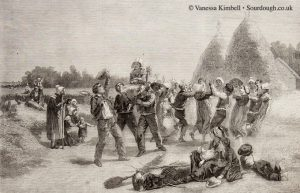 1859 – Harvest in Brittany – France