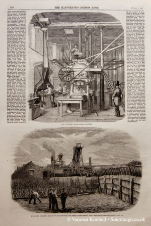 1860 – Bread making machine – UK