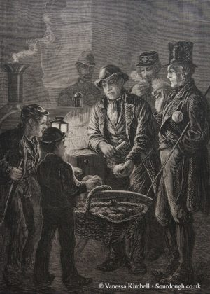 1877 – Selling bread – UK