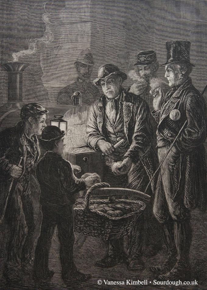 1877 – Selling bread – UK