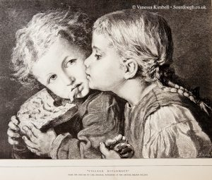 1879 – Children with bread - UK