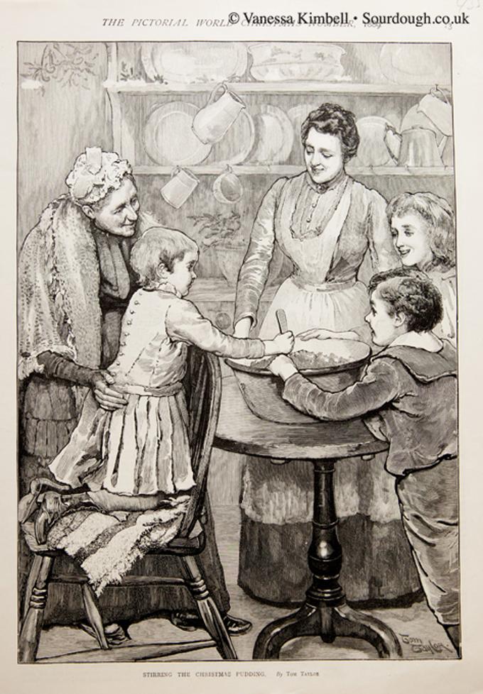 1889 – Christmas pudding – UK