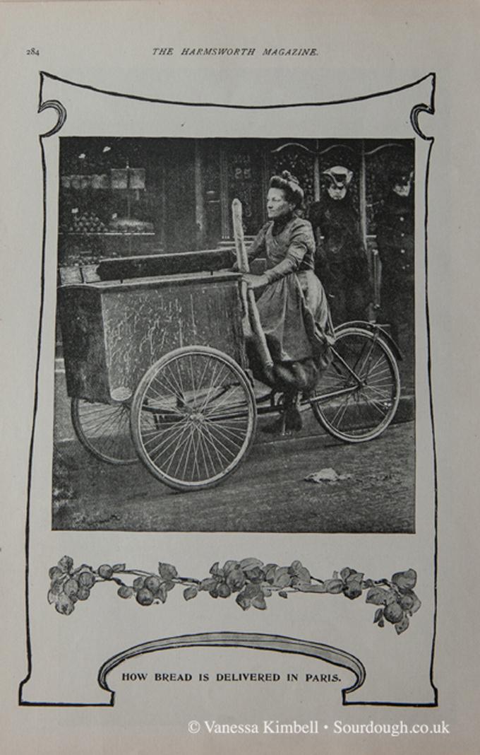 1901 – Baguette delivery – Paris
